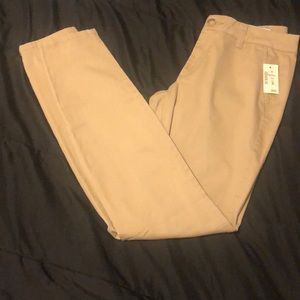Khaki uniform pants